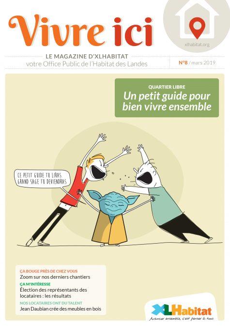 Magazine locataires XLHabitat n°8