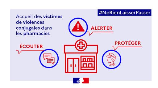 Stop violences alerte pharmacie