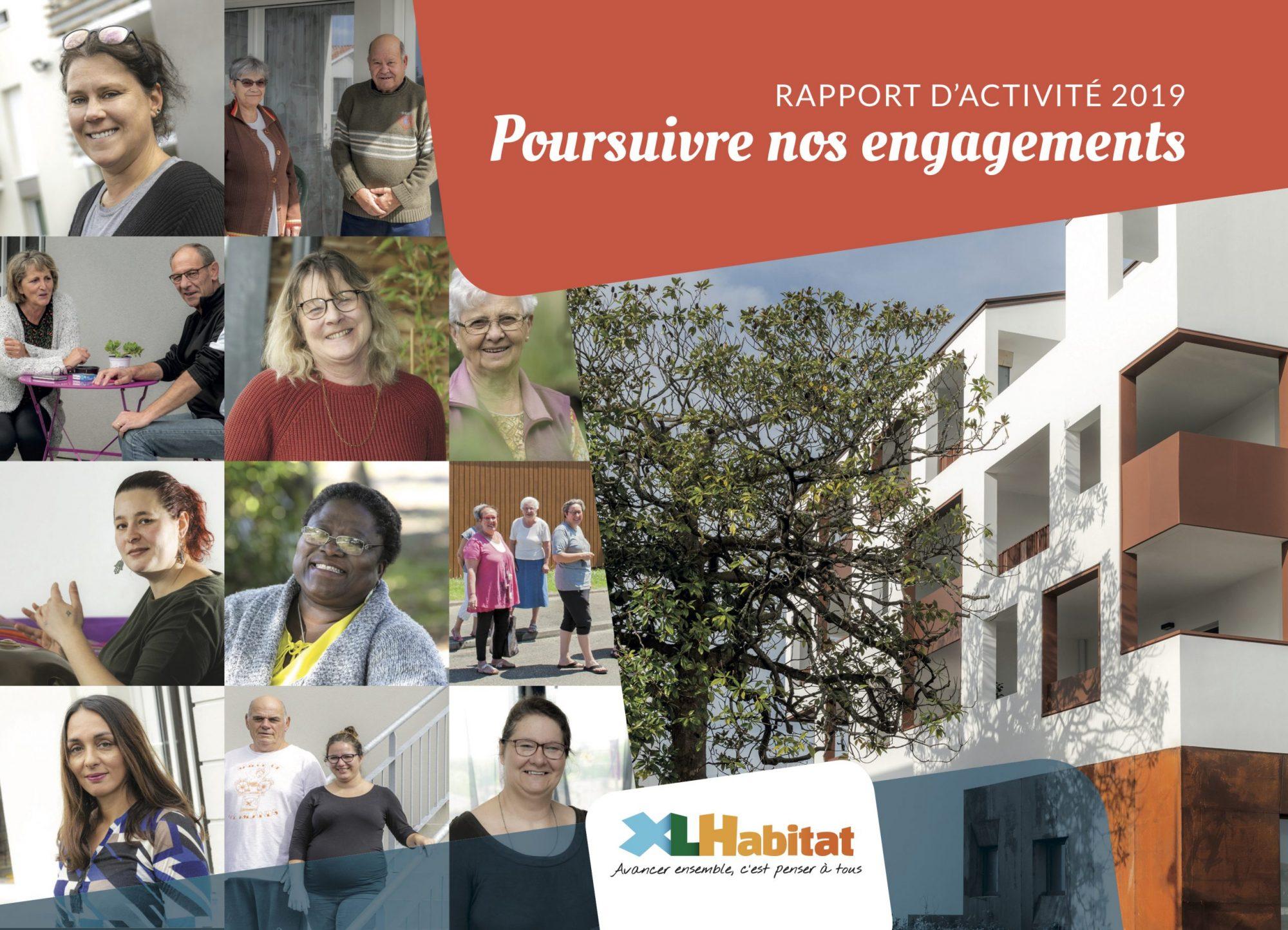 Rapport d'activités 2019 XLHabitat