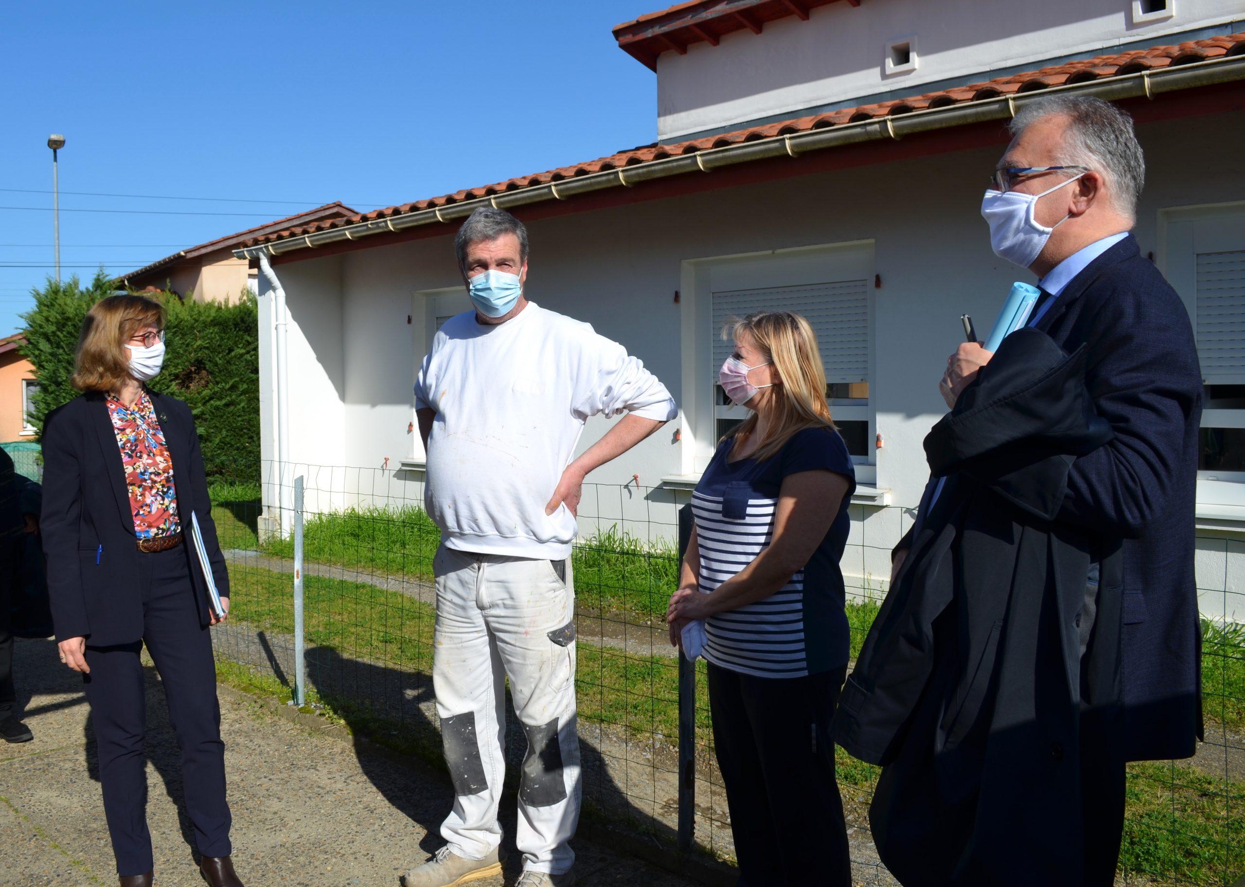 Visite résidence Linxe et Maillet - Plan de relance